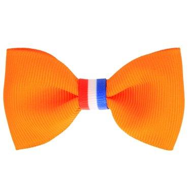 Your Little Miss Koningsdag haarspeldje oranje nederlandse vlag