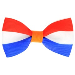 Your Little Miss Koningsdag haarspeldje rood wit blauw