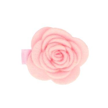 Your Little Miss Roze baby haarspeld met vilten bloem