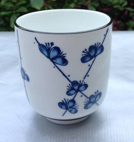 Japanese tea cup sakura