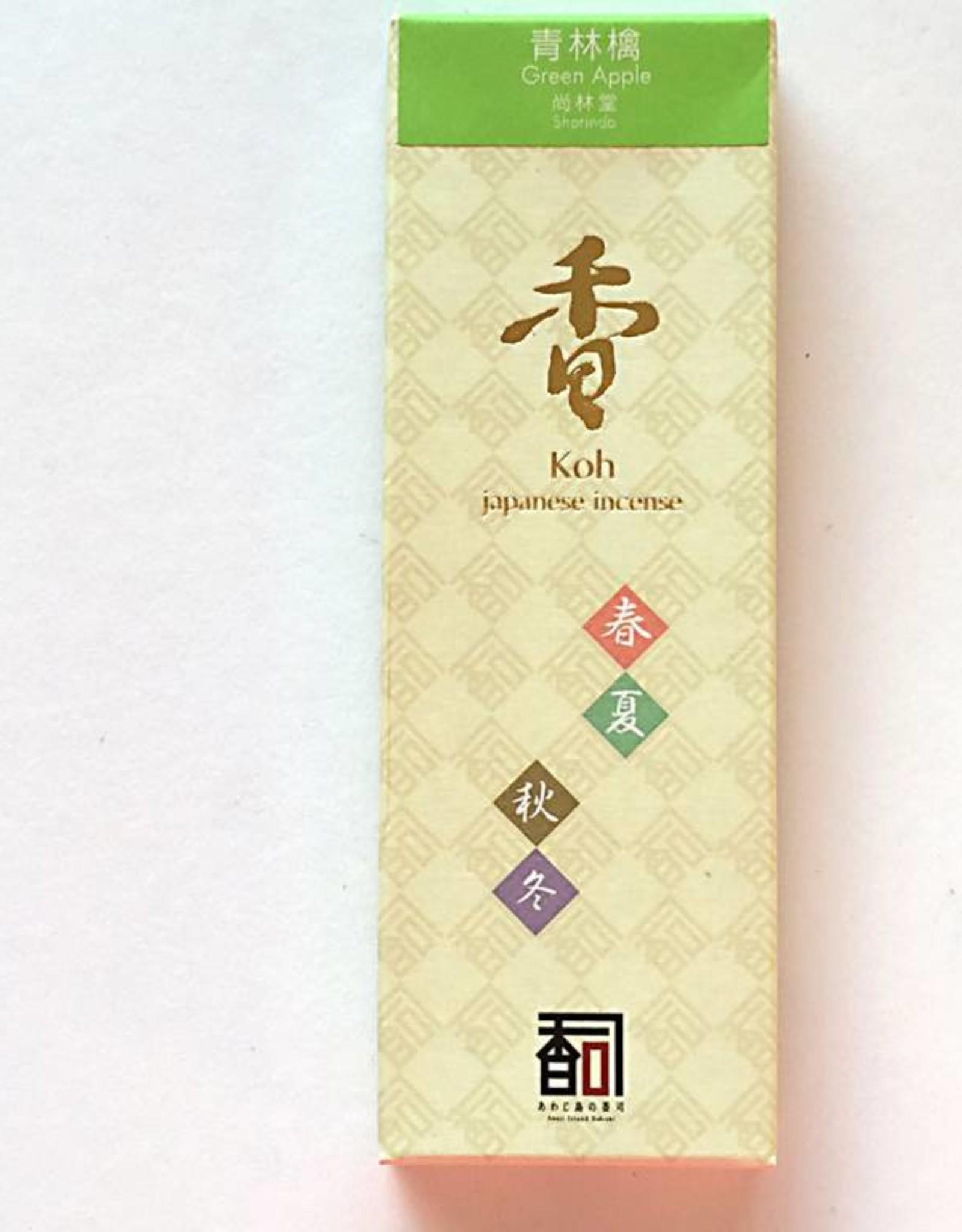 Awaji Island Koh-shi Japanese incense green apple (109)