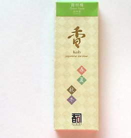 Awaji Island Koh-shi Japanese incense green apple (109)