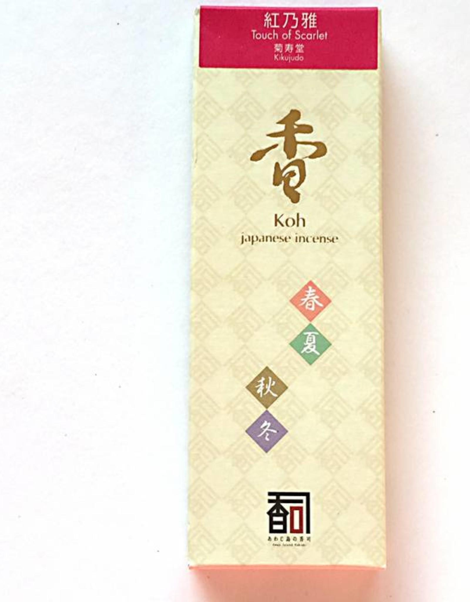 Awaji Island Koh-shi Japanese incense Touch of Scarlet (103)