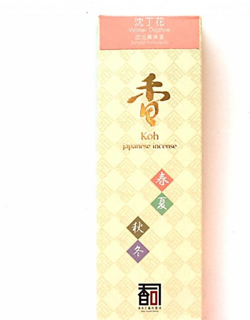 Awaji Island Koh-shi Japanese incense Winter Daphne (107)