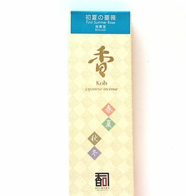 Awaji Island Koh-shi Japanese incense First Summer Rose (116)