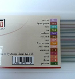 "Awaji Island Koh-shi Japanse wierook assorti ""The Finest Selection Series"""
