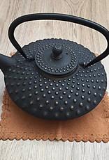 Gietijzeren theepot traditioneel zwart (1,20 ltr)