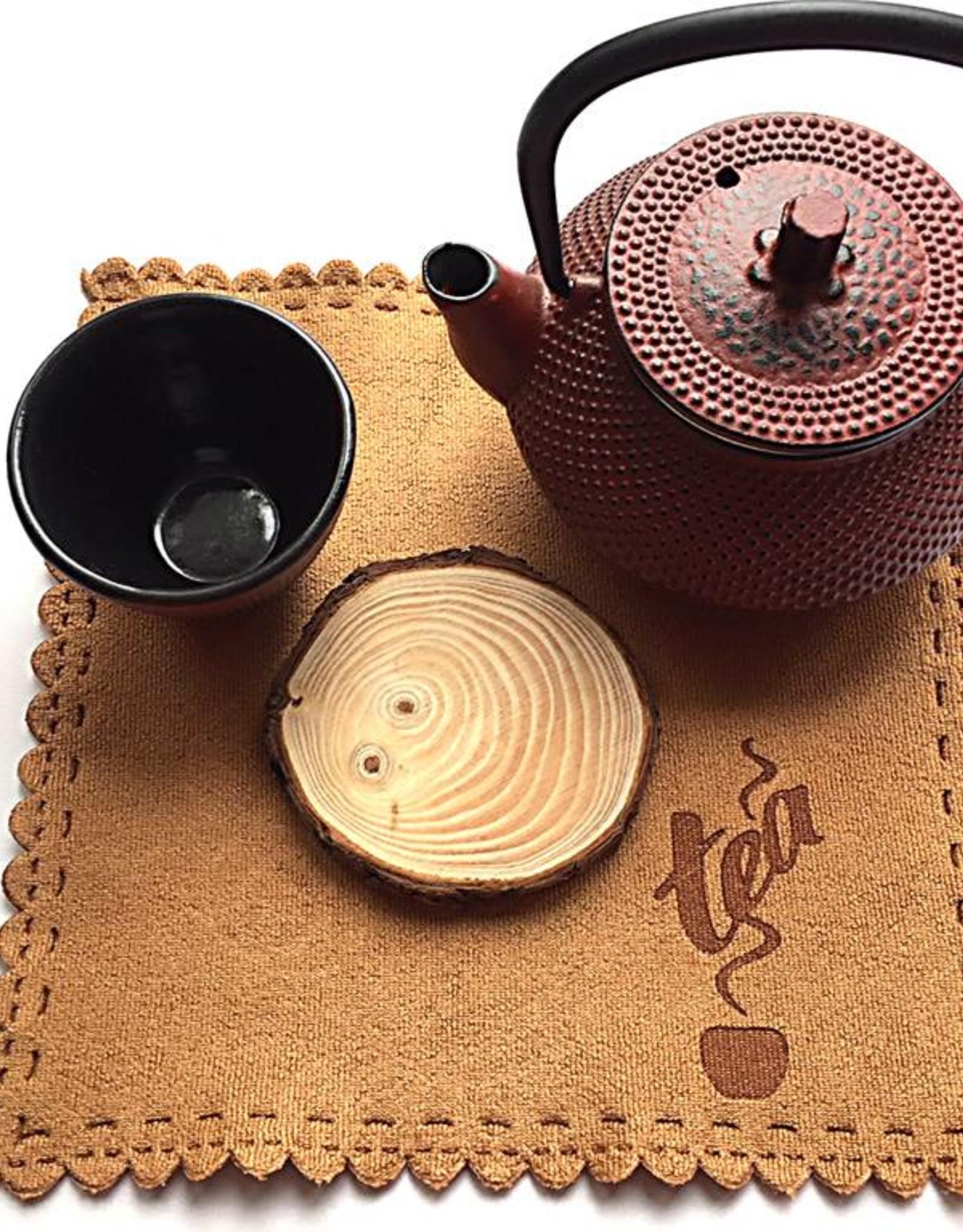 Gietijzeren theepot set rood (een persoon)