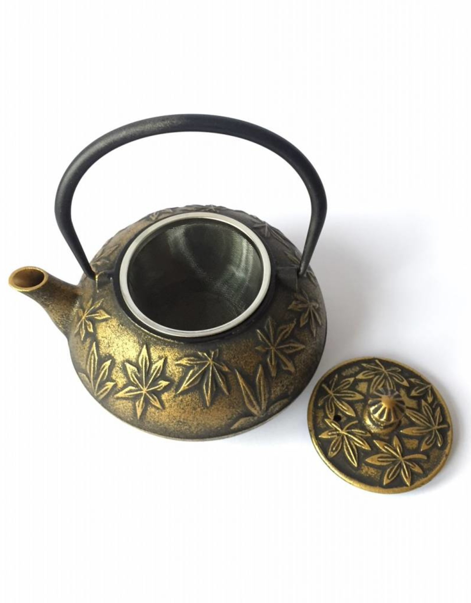 Cast iron teapot Japanese Acer