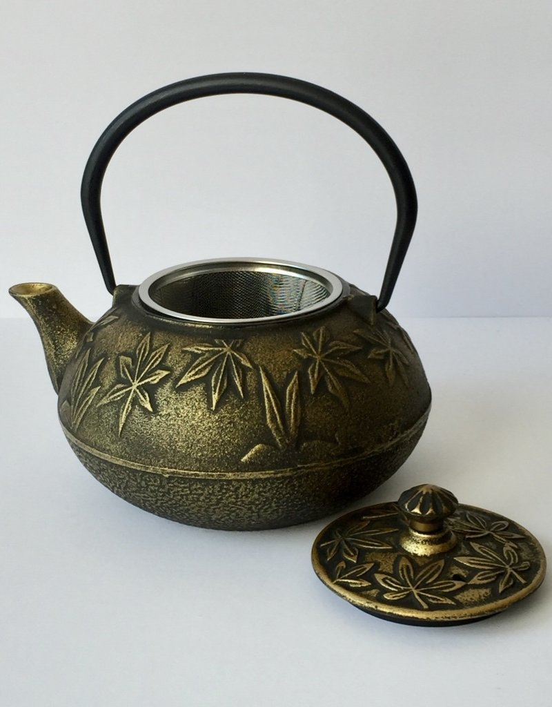 Cast iron teapot Japanese Acer