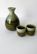 Tokyo Design Studio Sake set Oribe Irabo