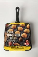Sprout Takoyaki pan (Japanse poffertjes pan)