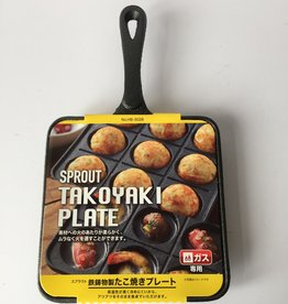 Takoyaki pan (Japanese poffertjes pan)