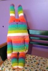 Craftholic® Rabbit cuddle rainbow colors