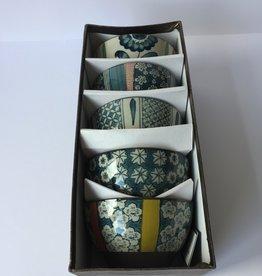 Rice bowls gift set 3