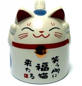 Tokyo Design Studio Katmok blauwe kat