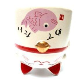 Tokyo Design Studio Theekopje roze kat