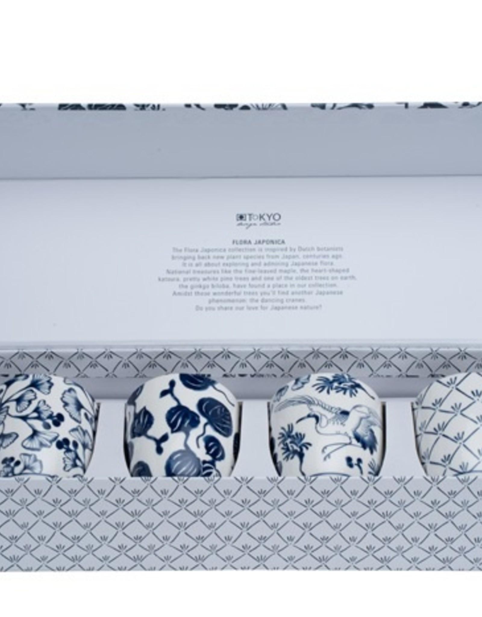 Tokyo Design Studio (Temporarily sold out) Flora Japonica teacups gift set