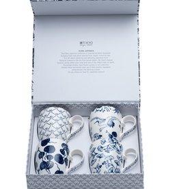 Tokyo Design Studio Flora Japonica tea cup gift set