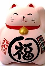Maneki Neko piggy bank pink