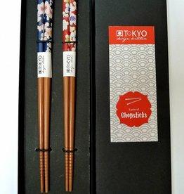 Tokyo Design Studio Chopsticks Lentebloesem (2 sets) in doosje