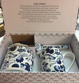 Tokyo Design Studio Flora Japonica melk en suiker set