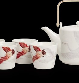 Royal Tea Royal Tea Theeset geschenkdoos kraanvogel