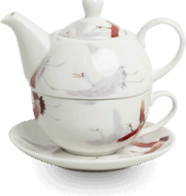 RoyalTea Tea for one theeset kraanvogel