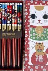 Tokyo Design Studio Chopsticks Maneki Neko (gelukskat)