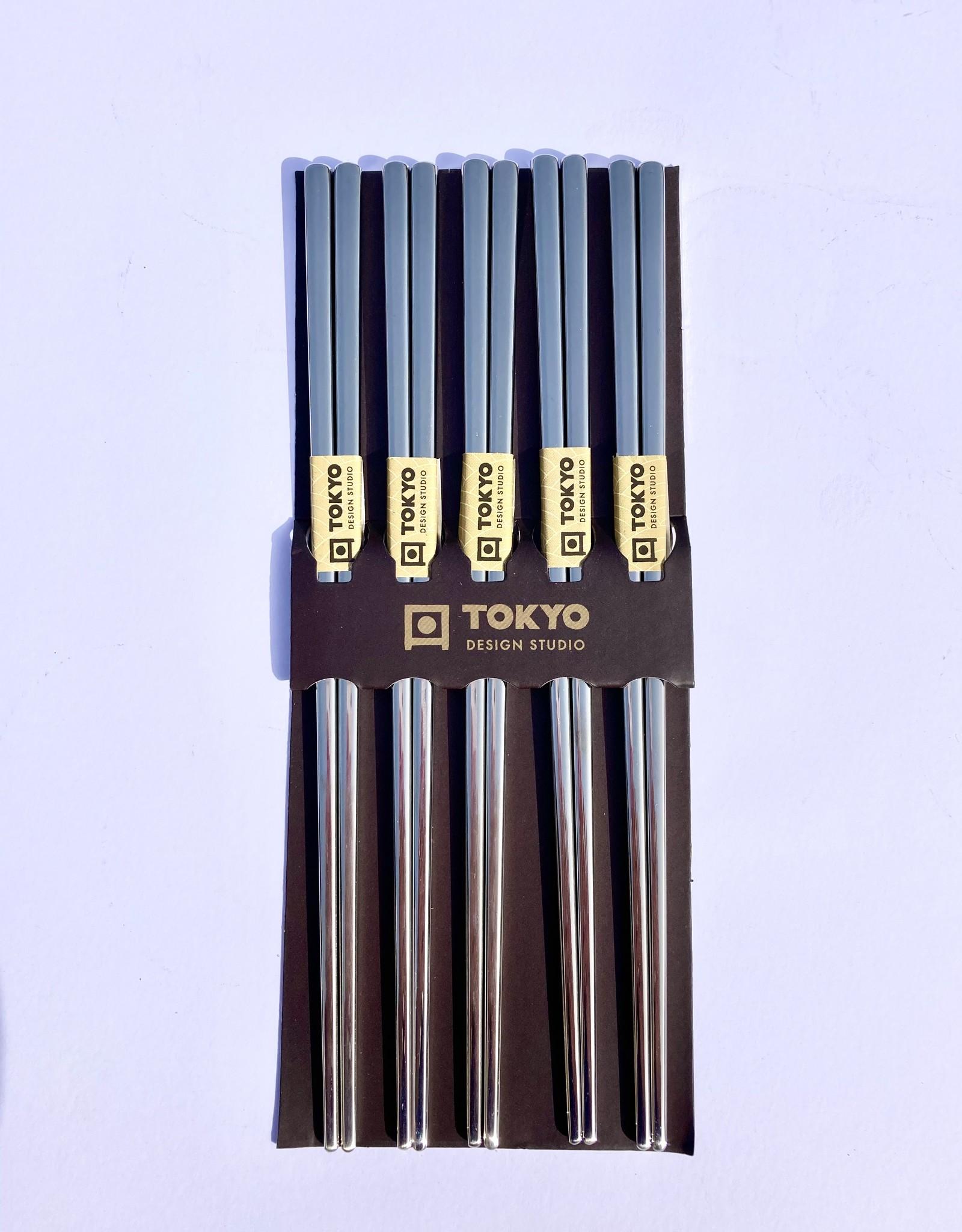 Tokyo Design Studio Chopsticks roestvrij staal zilver