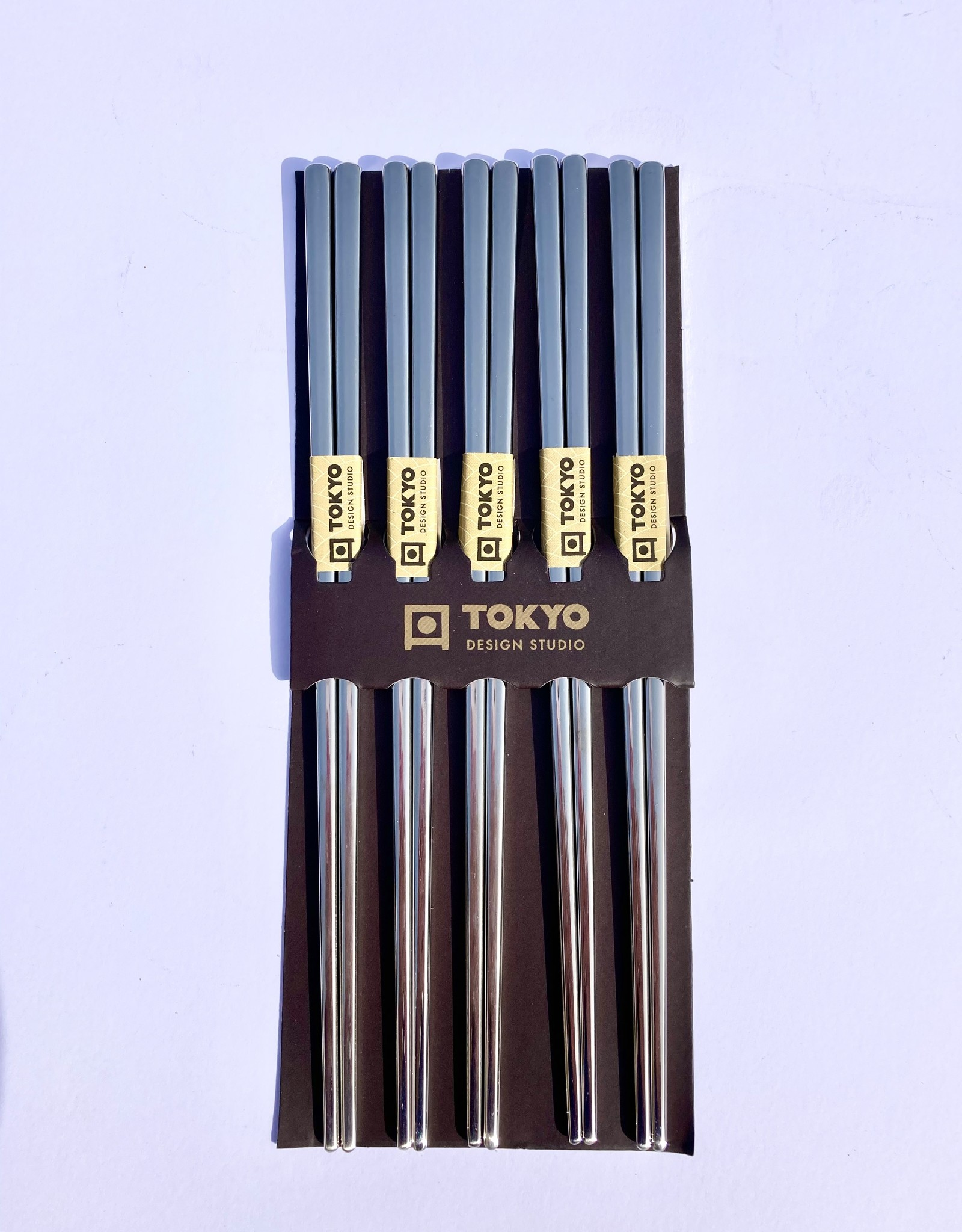 Tokyo Design Studio Japanse zilveren chopsticks (rvs)
