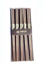 Japanse gouden chopsticks (rvs)