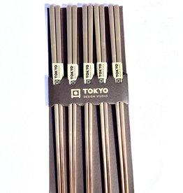 Tokyo Design Studio Japanse gouden chopsticks (rvs)