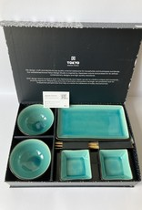 Tokyo Design Studio Tokyo Design Studio Sushi set Glassy Turquoise
