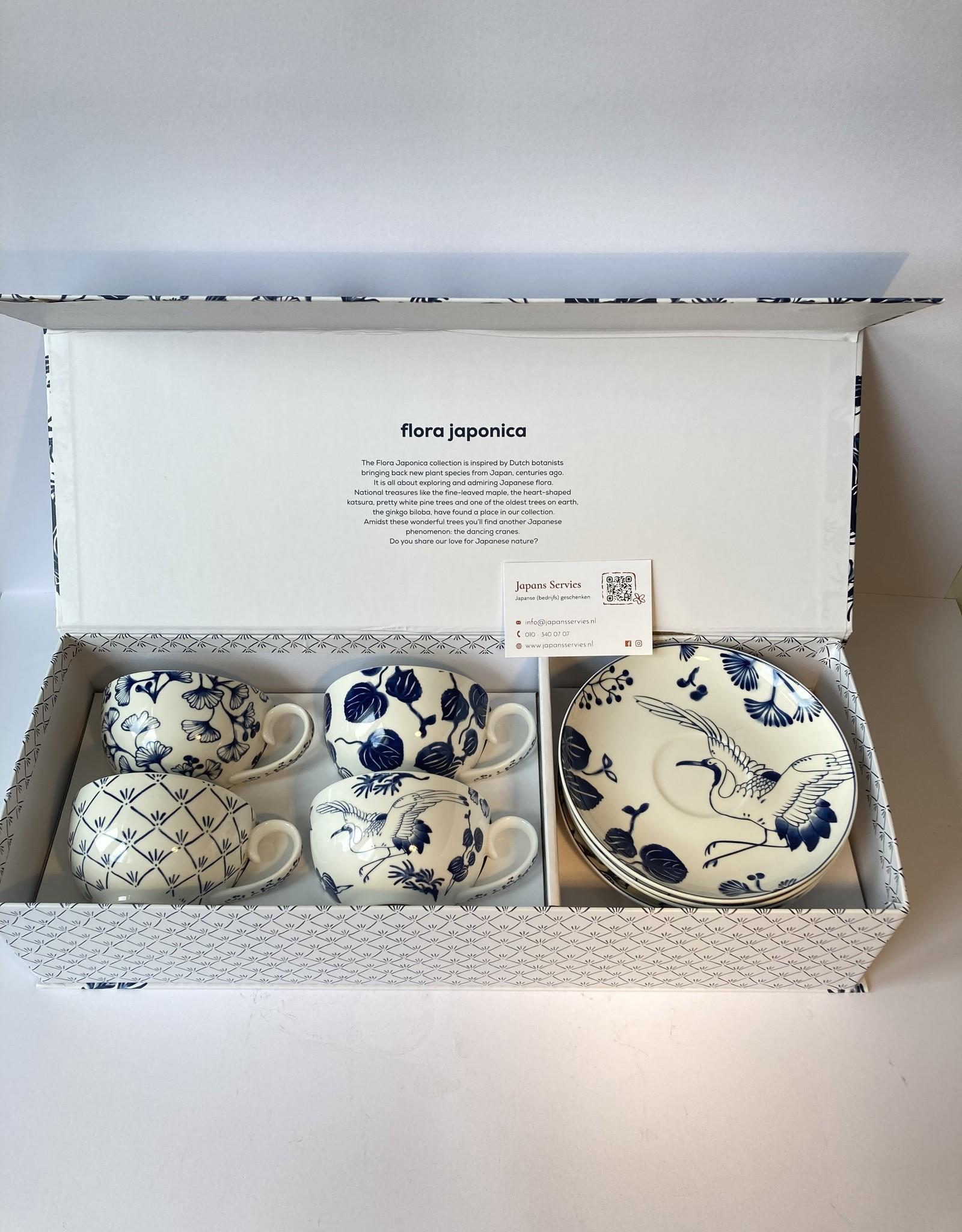 Tokyo Design Studio Flora Japonica kop en schotel geschenkdoos