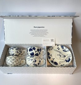 Tokyo Design Studio Flora Japonica cup and saucer gift box