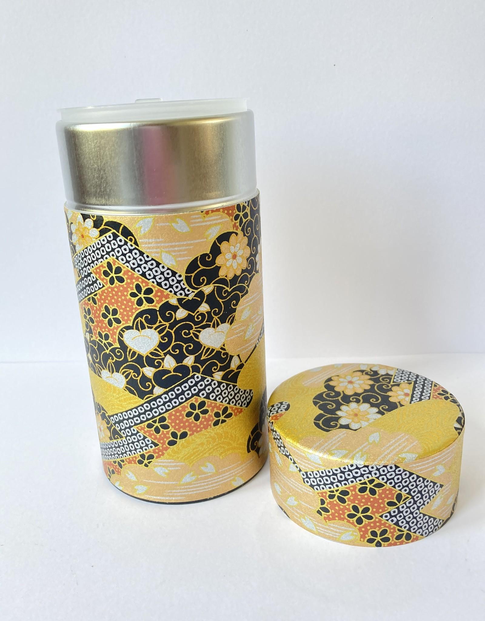 Tokyo Design Studio Tokyo Design Studio japans theeblik chique goud met chrysanten