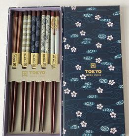 Tokyo Design Studio Chopsticks Giftbox Mixed Designs