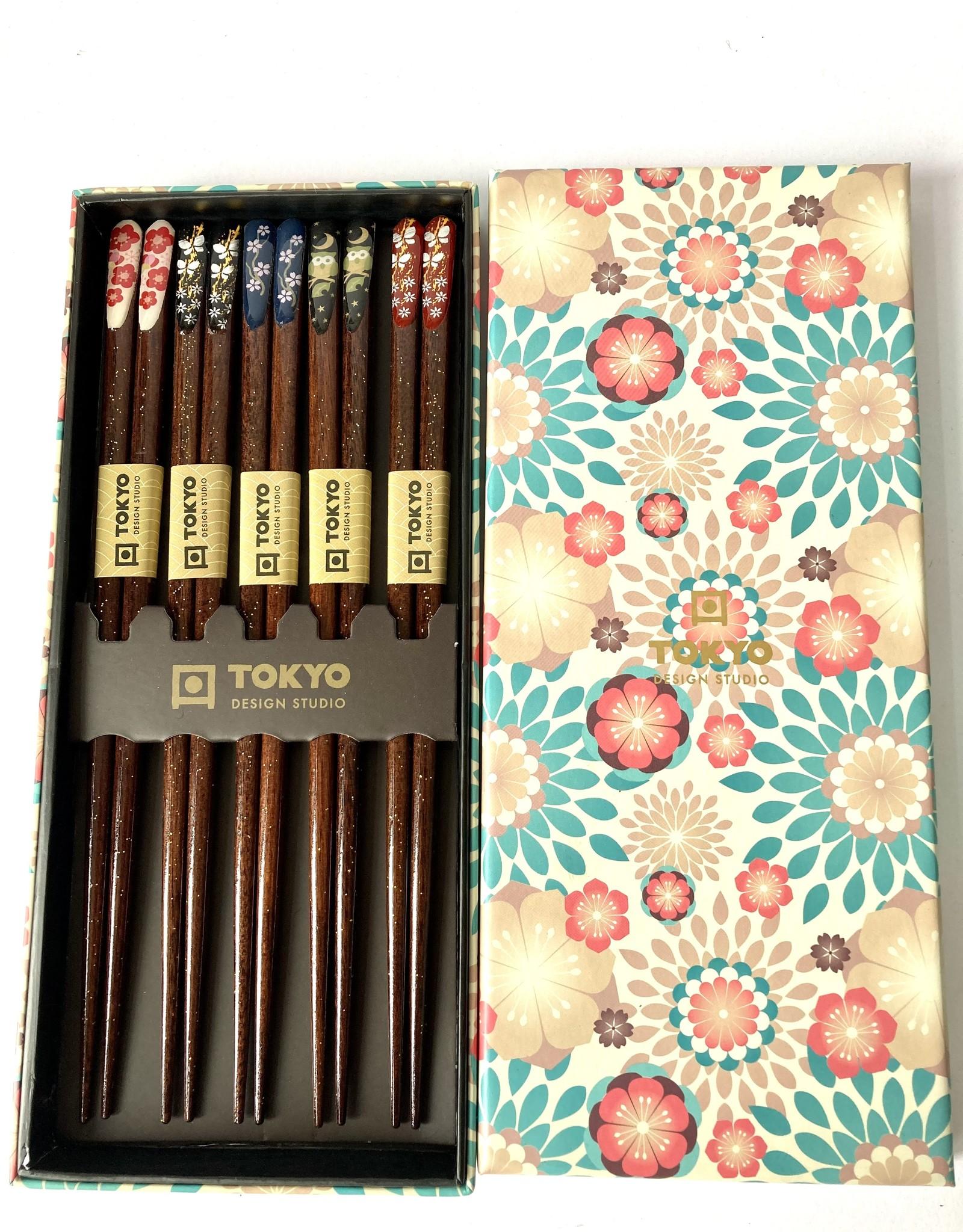 Tokyo Design Studio Japanse chopsticks Nippon Floral
