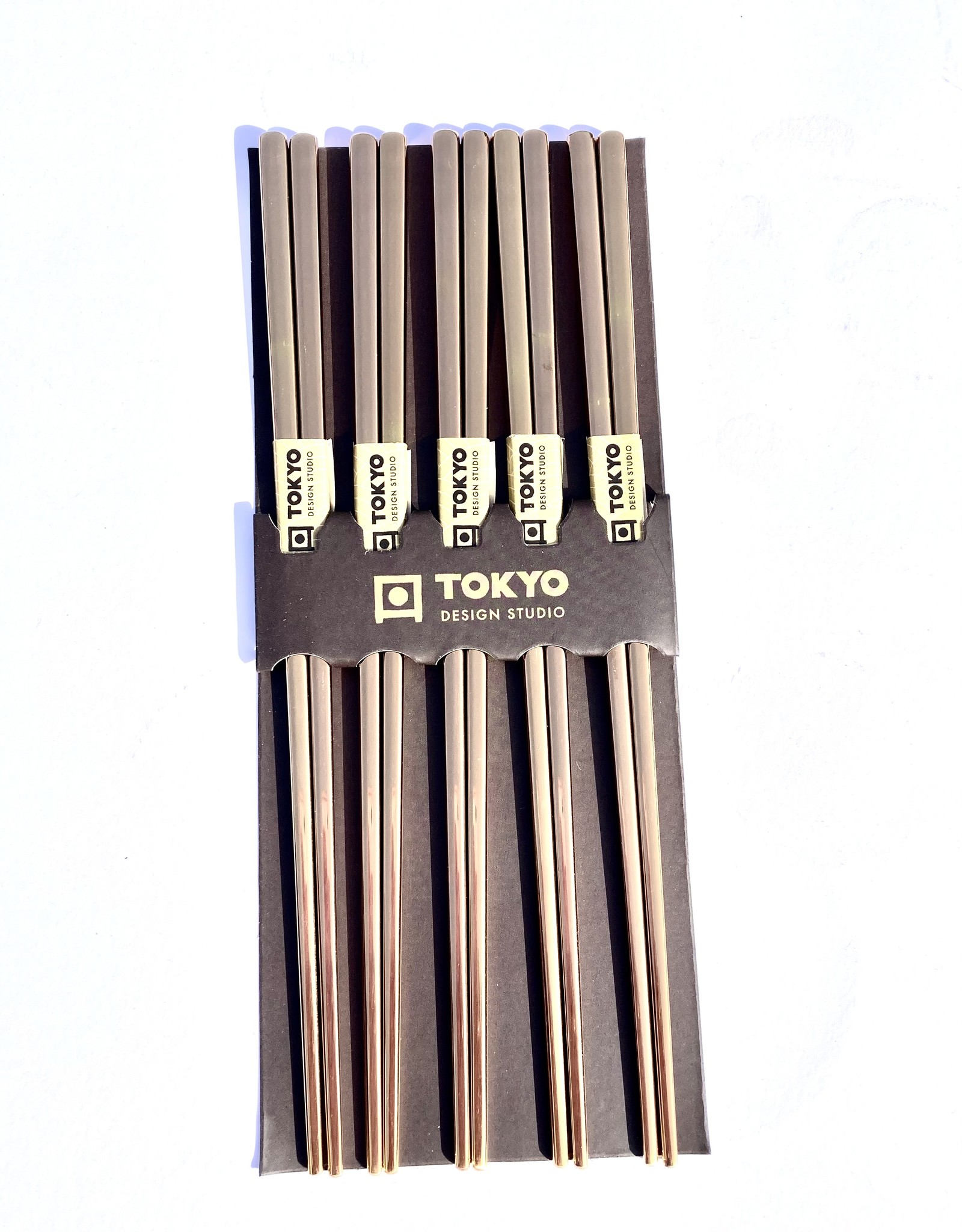 Japanse chopsticks rose gold (rvs)