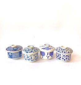Japanese teacups with lid