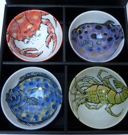 Tokyo Design Studio Bowls Seafood