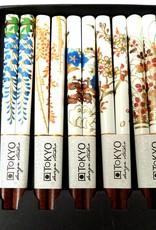 Tokyo Design Studio Chopsticks wit met Japanse bloemen