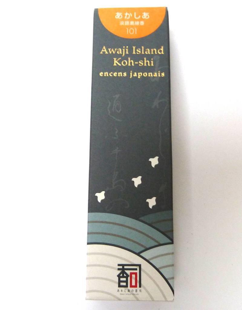 Awaji Island Koh-shi Japanese incense Acacia (101) (Limited Smoke)