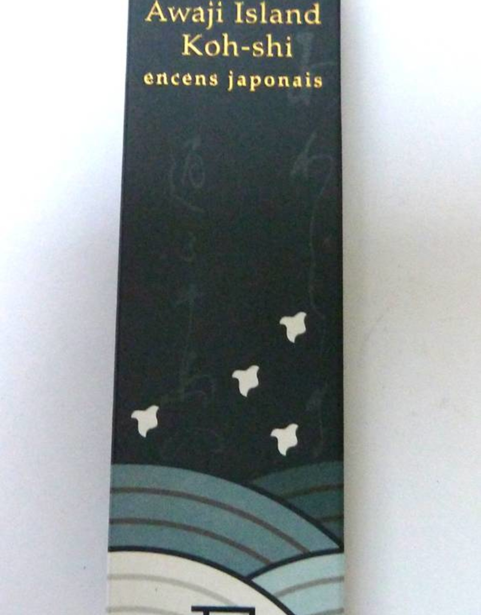 Awaji Island Koh-shi Japanese incense India Ink (Limited Smoke)