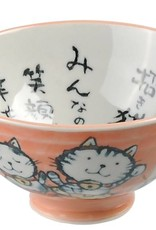 Tokyo Design Studio Bowl with orange kitten