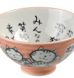 Tokyo Design Studio Bowl with orange kitten