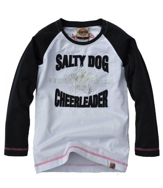 Salty Dog Kinderkleding.Salty Dog T Shirt Meisjes Sg10073404 White Kinderjas Com
