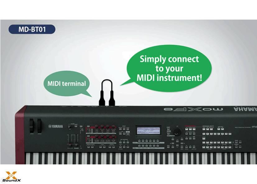 Yamaha Yamaha MD-BT01 Bluetooth MIDI Adapter