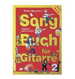 Voggenreiter Peter Burschs' Songbuch für Gitarre 2